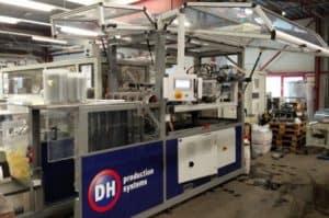Padhandler maatwerk machine gemaakt door DH