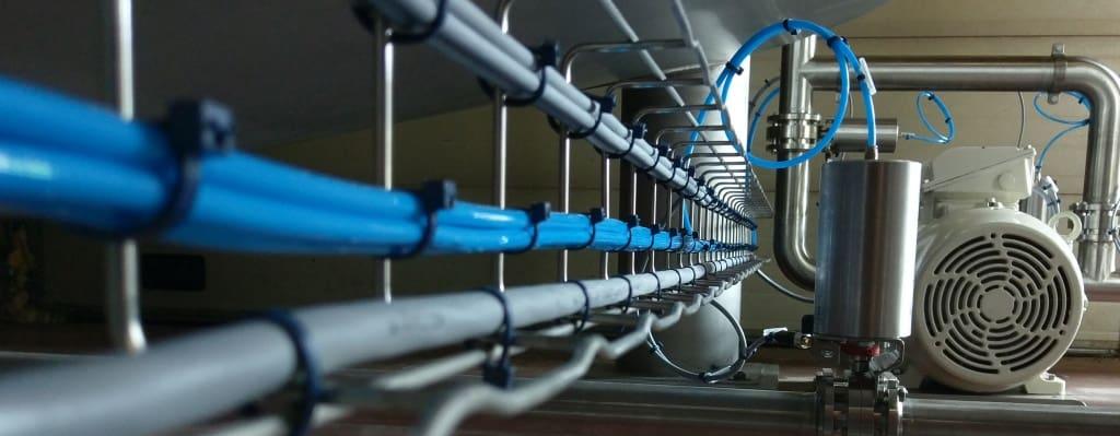 Elektrische installatie en bekabeling proces installatie