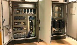 MCC en PLC besturingskast paneelbouw