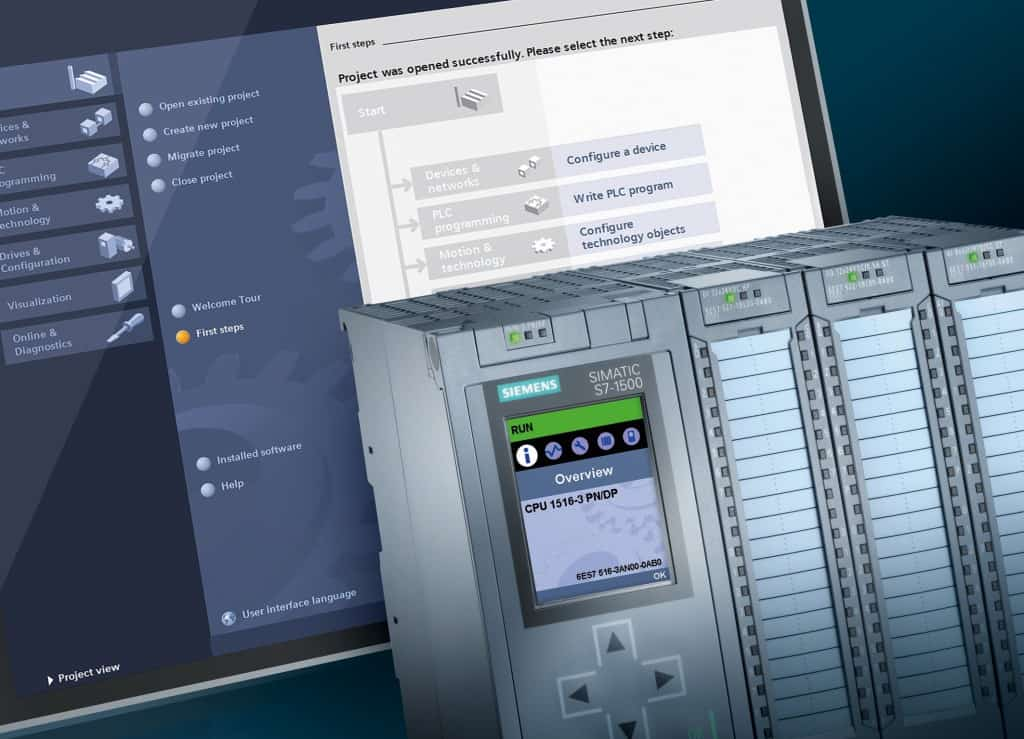 IA PLC software engineering siemens