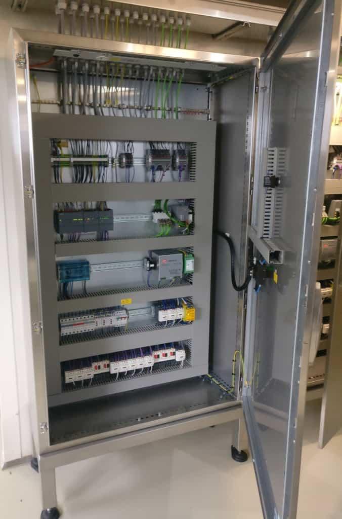 RVS besturingskast automatisering mengers