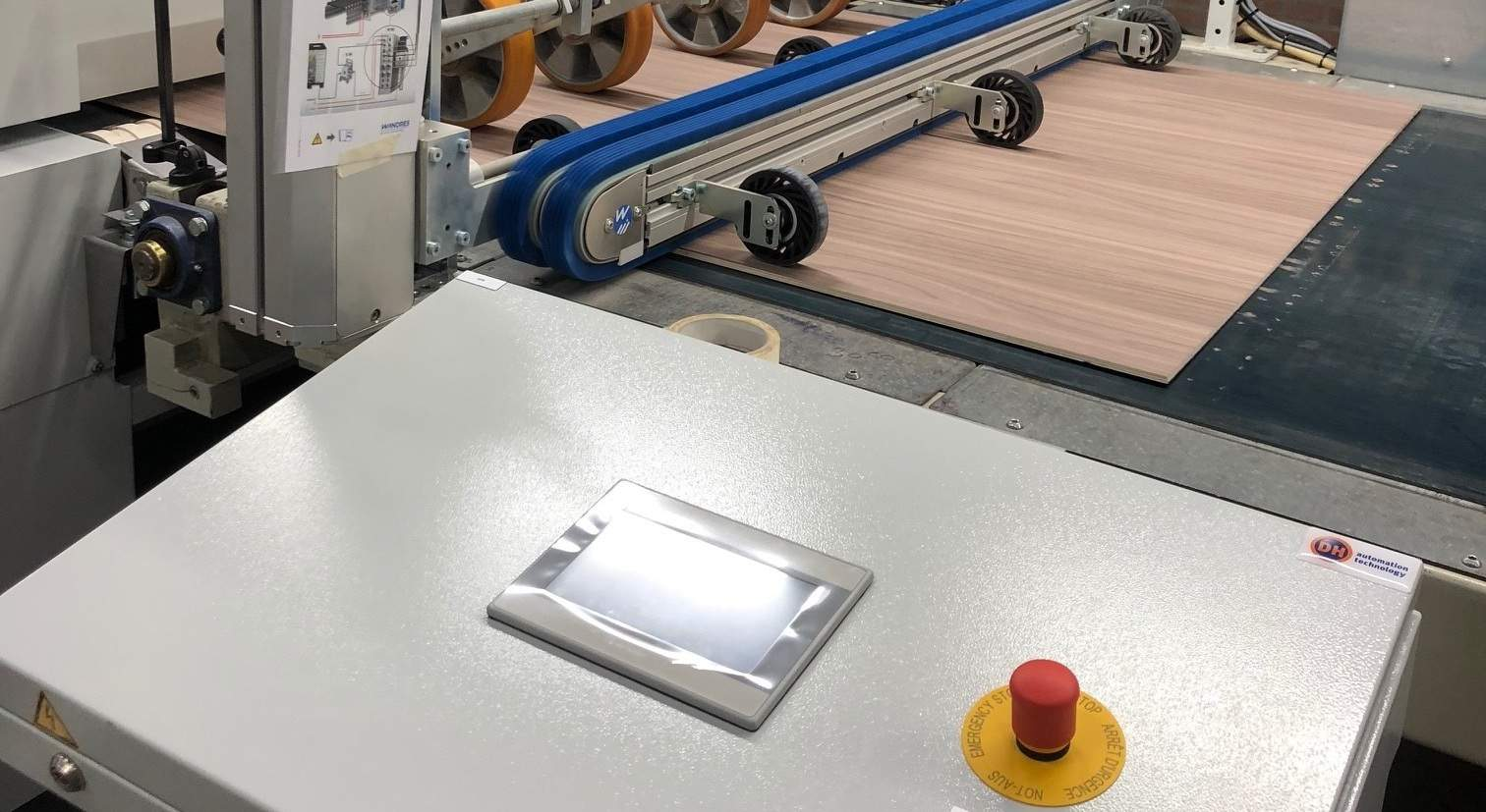IA Slider Industriele automatisering Lessenaar touchscreen hmi 2