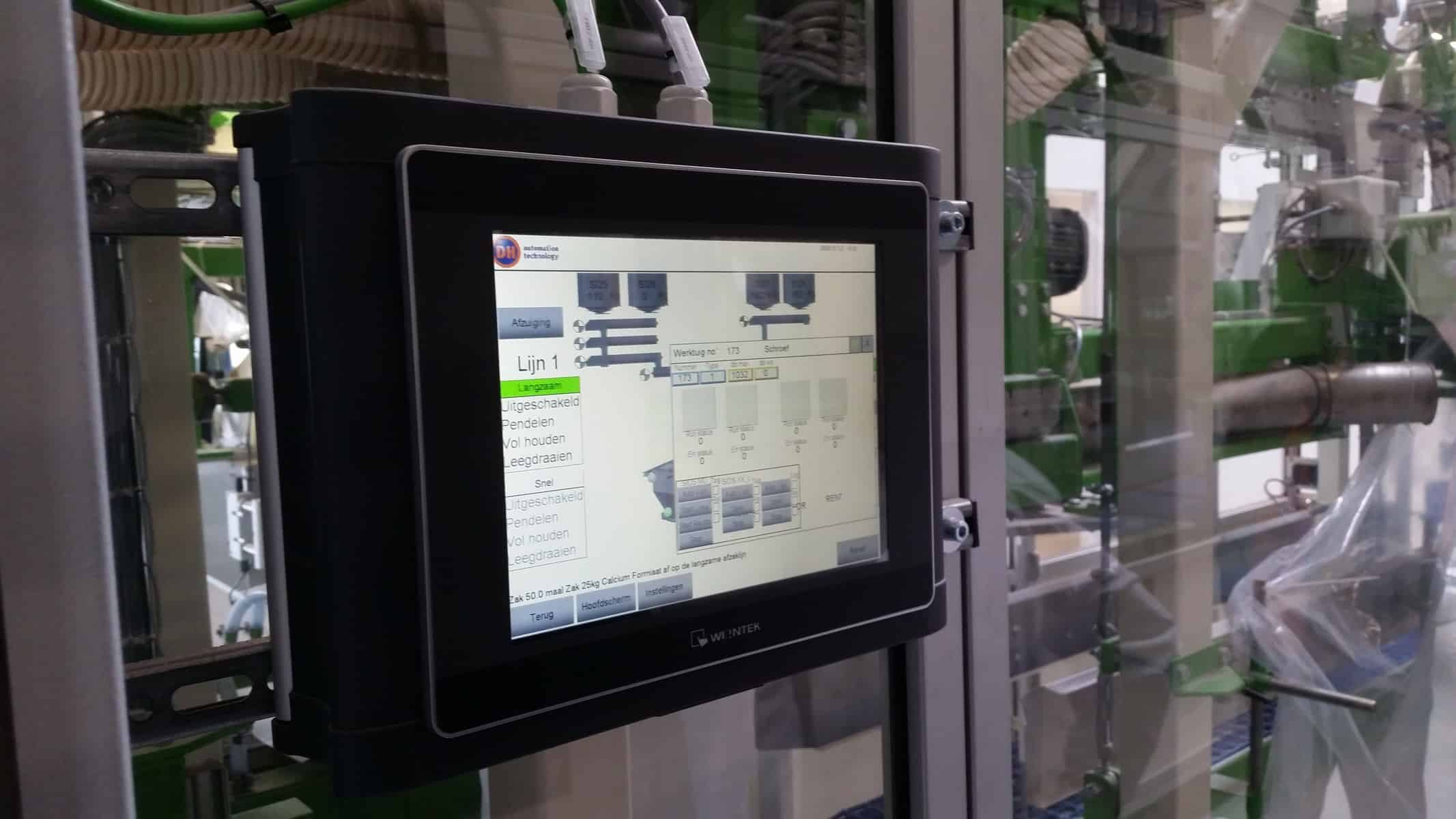 IA Touchscreen Productie machine automatisering (3)