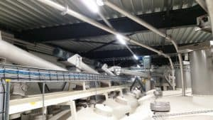 IA Elektrische installatie blaas transport pneumatisch silo