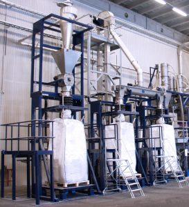 Big bag vulstation besturing automatisering