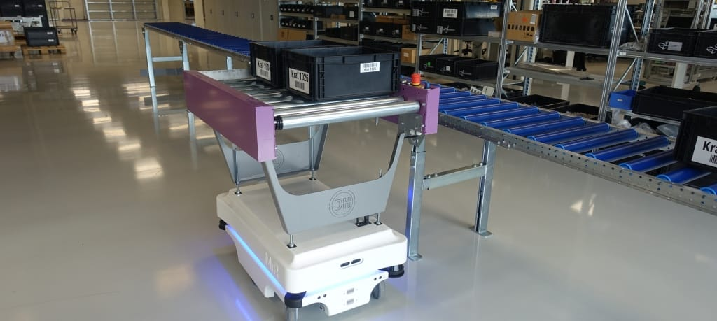 LS ROP AGV Mobile robot order picker Slider small