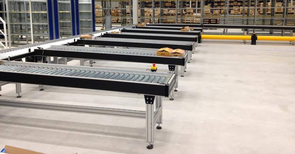 LS Uitsorteer rollenbanen magazijn Slider small