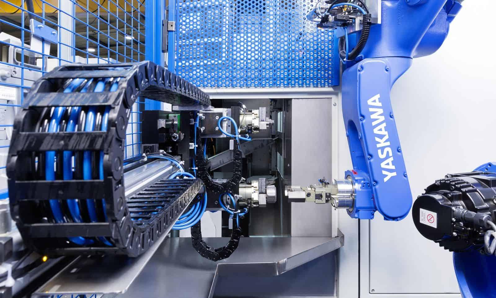 PS Yaskawa Service en onderhoud mechanisch