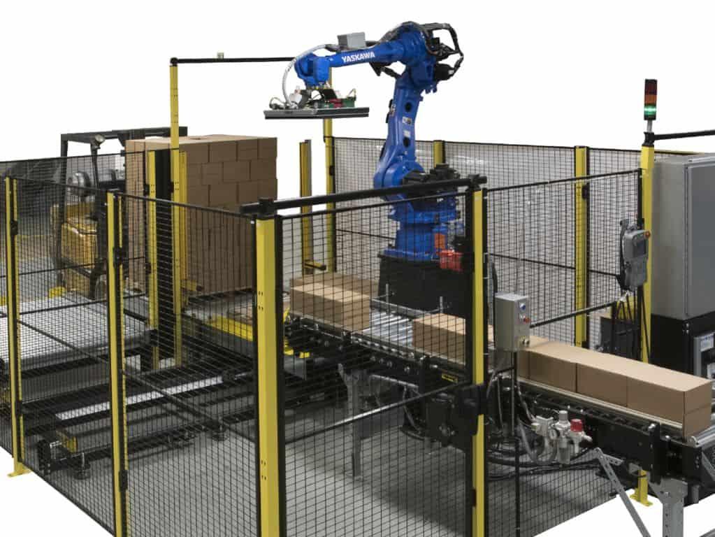 Robot palletiser dozen small