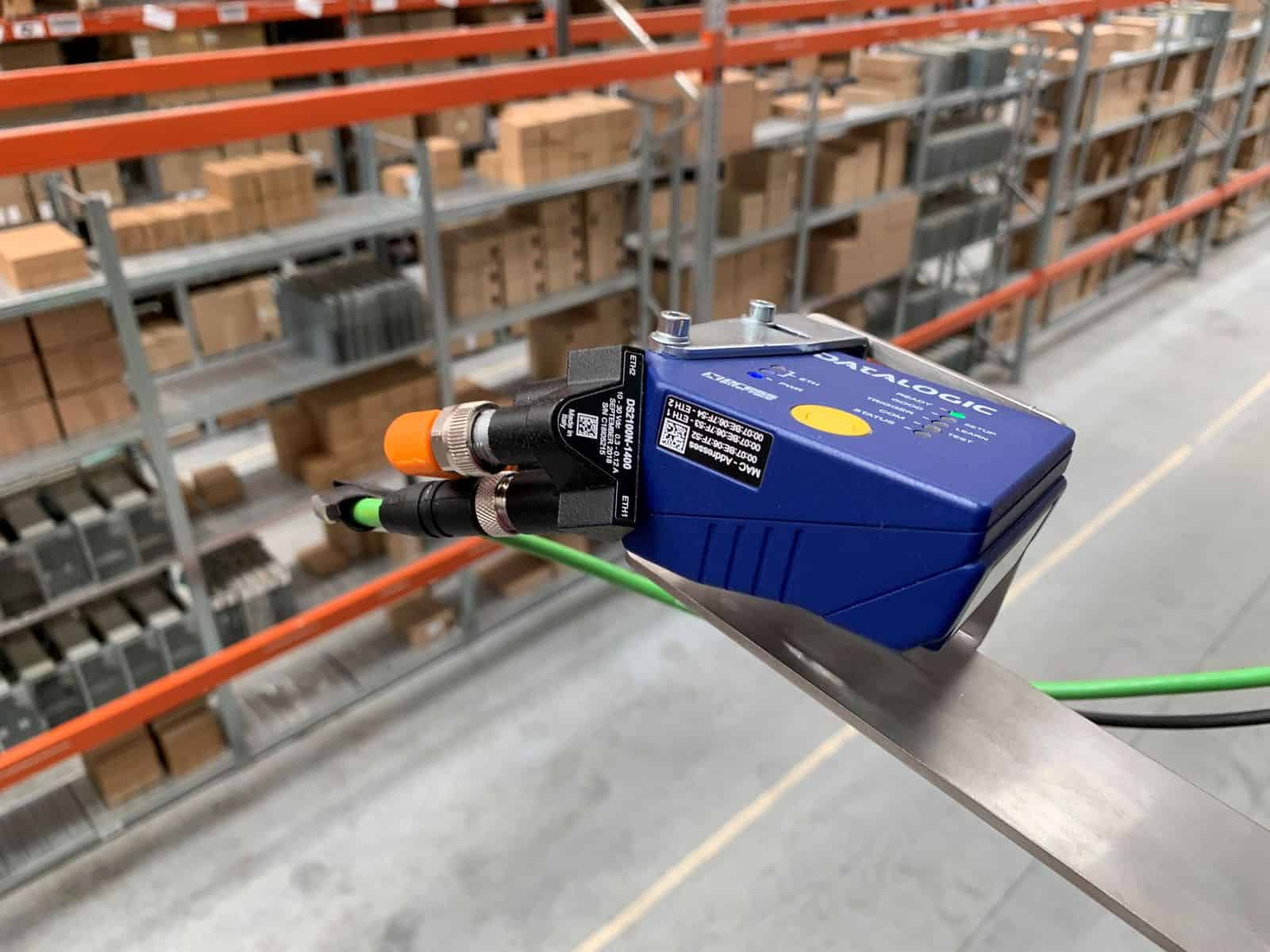 IA Barcode scanner Logistic systems