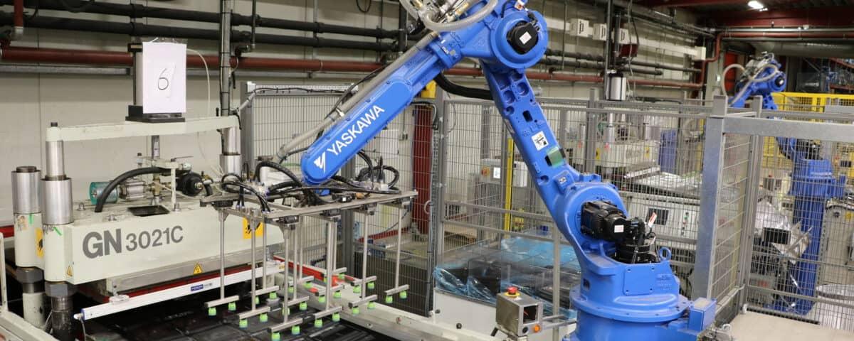 PS Robot automatisering machine pick en place
