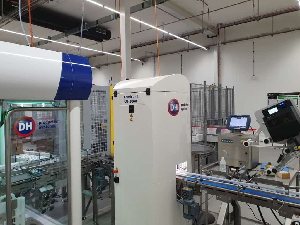 Product Checkunit Vision Barcode THT Track en trace